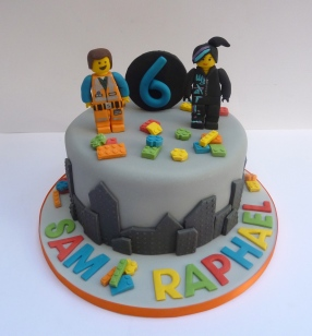 Lego Movie Birthday cake